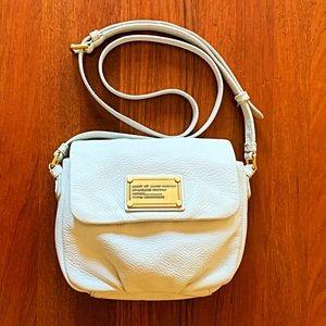Marc by Marc Jacobs mini white crossbody bag